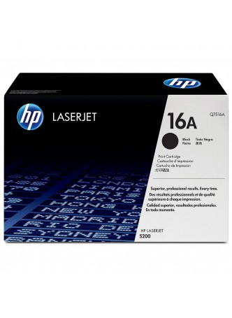 Mực in HP 16A Black Toner Catridge (Q7516A)