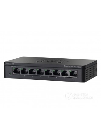 Cisco SF90D-08 Port- UNMANAGED SWITCH 10/100