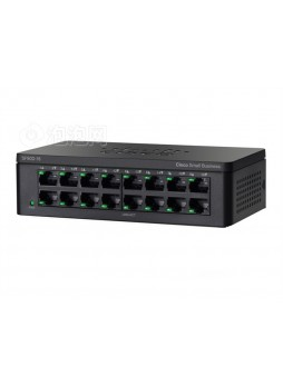 Cisco SG90D-16 Port- UNMANAGED SWITCH 10/100